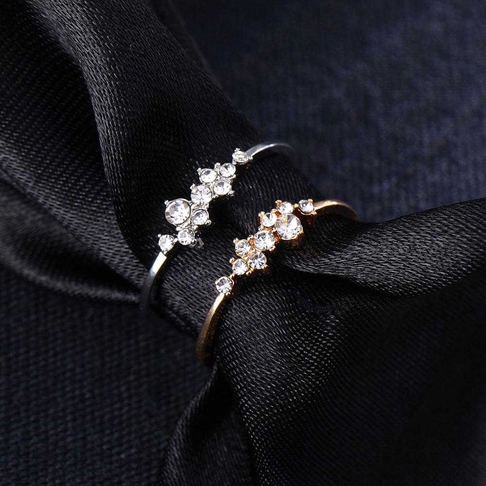 8e7ed65c37665 Buy New Pattern Hemp Flowers Ring Plating Rose Gold Silver Micro ...