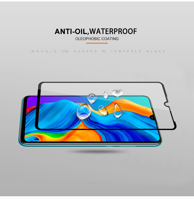 Buy 2 Pcs Tempered Glass for Huawei P30 P30 pro 9H Screen
