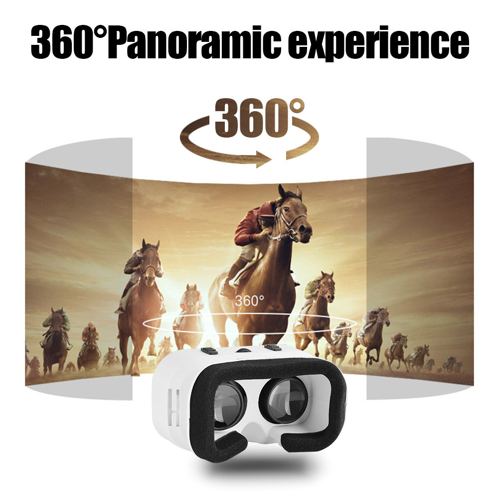 Buy VR SHINECON 3D Virtual Reality Glasses Movies Games for