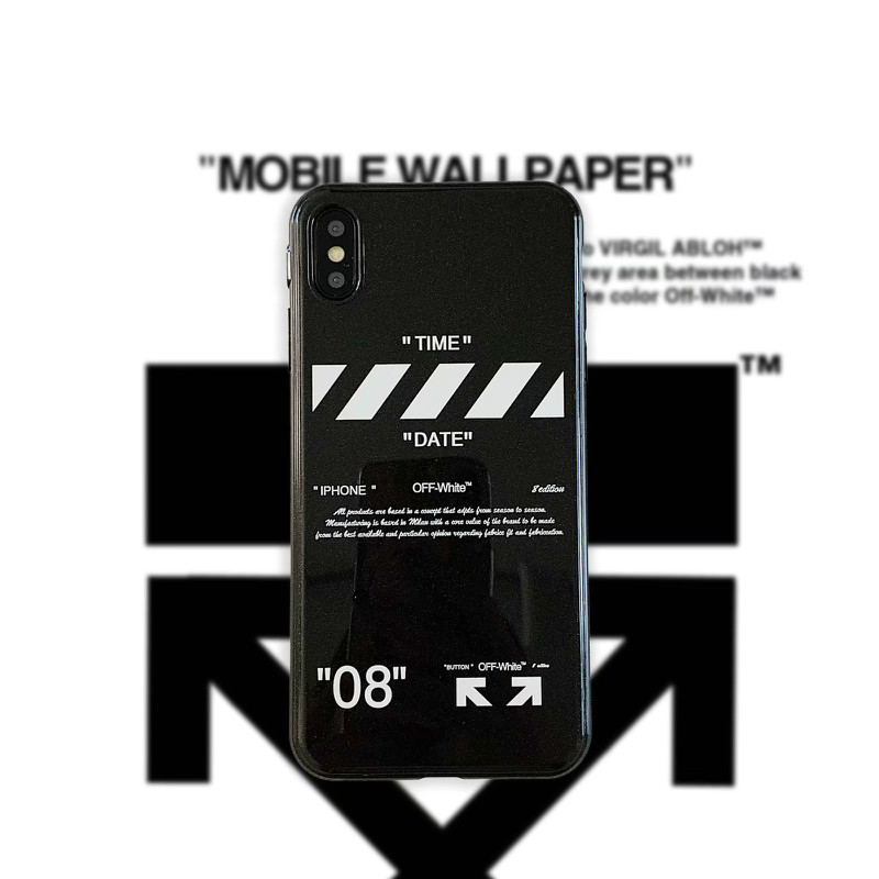 Buy Fashion Brand Off White Mobile Phone Case For Iphone X