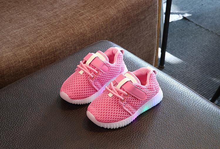 1694dbae04 Buy Kids Shoes LED Light Sneakers Casual Shoes | KiKUU