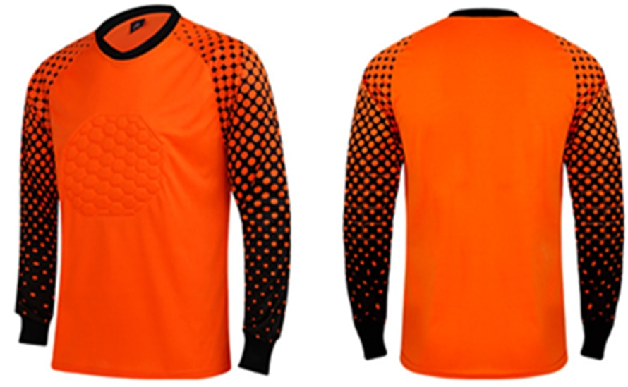 0cec2dc4912 Buy ZMSM Kids to Adult Soccer Goalkeeper Uniform Men Soccer Jerseys ...