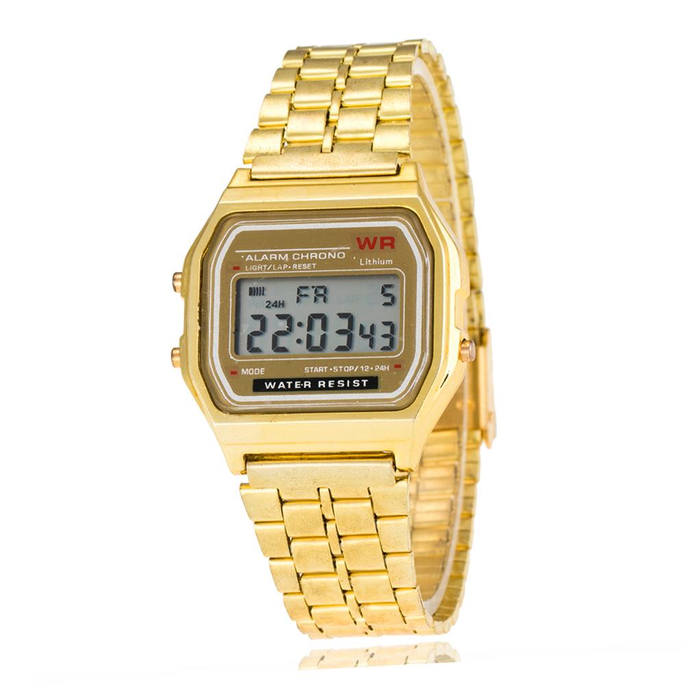 c958add70 Buy Steel belt multi-function LED digital electronic sports watch ...
