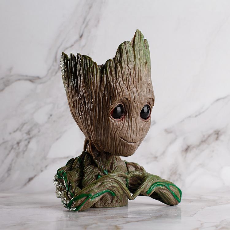 Buy Baby Groot Model Plastic Bonsai Planter Tree Man Desktop
