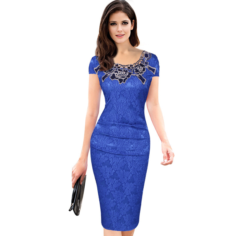 00da6011cf8 Buy TQNFS Womens Sexy Lace Elegant Vintage Pinup Cocktail Party ...