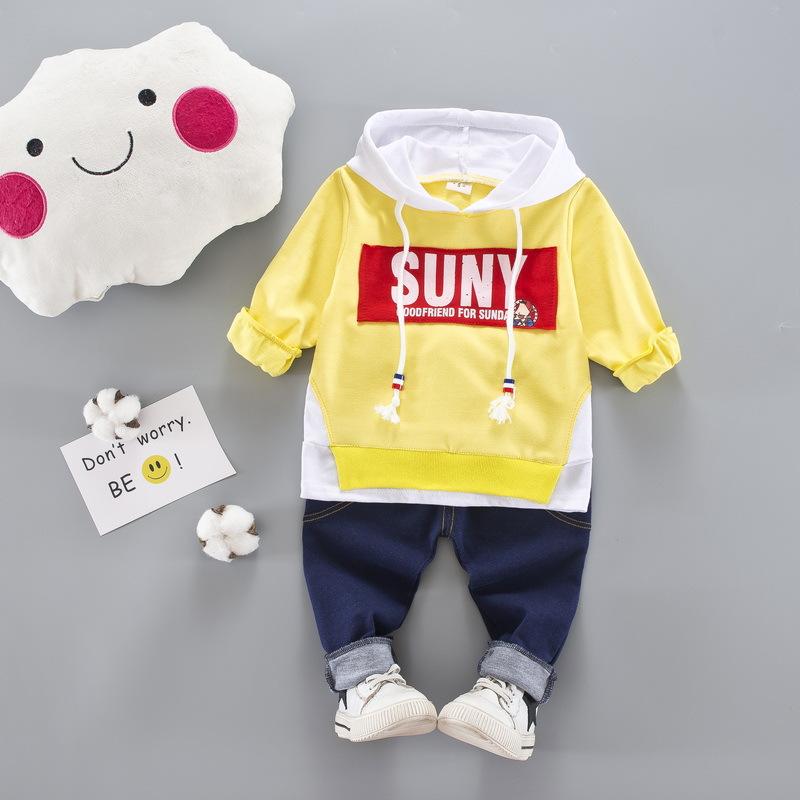 312afd83d Buy Children baby sets tracksuit 2PCS cotton sport suit cartoon t ...