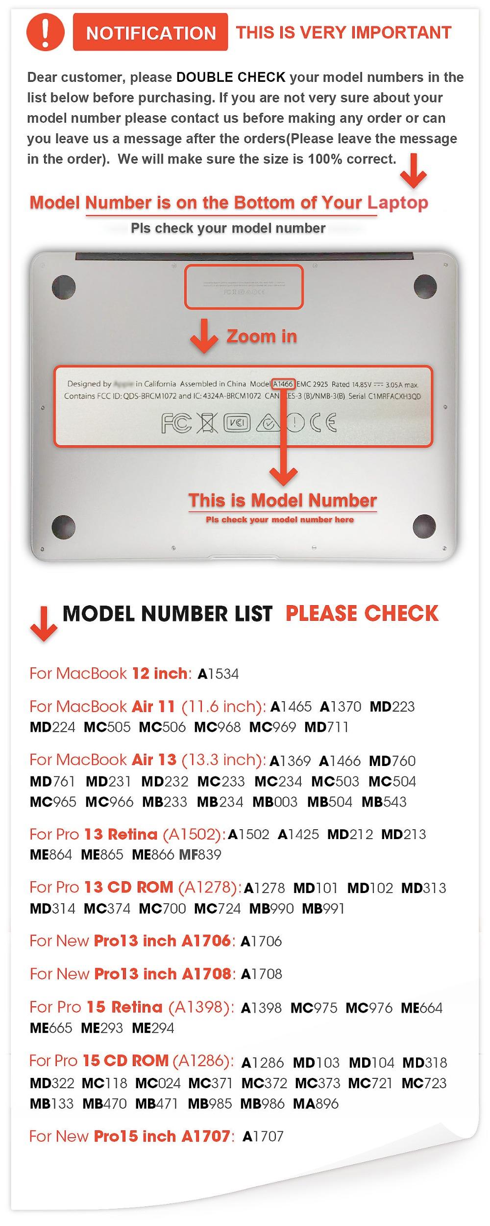 Buy Matte Leather Laptop Case For Apple Macbook Air Pro 11 12 13 15