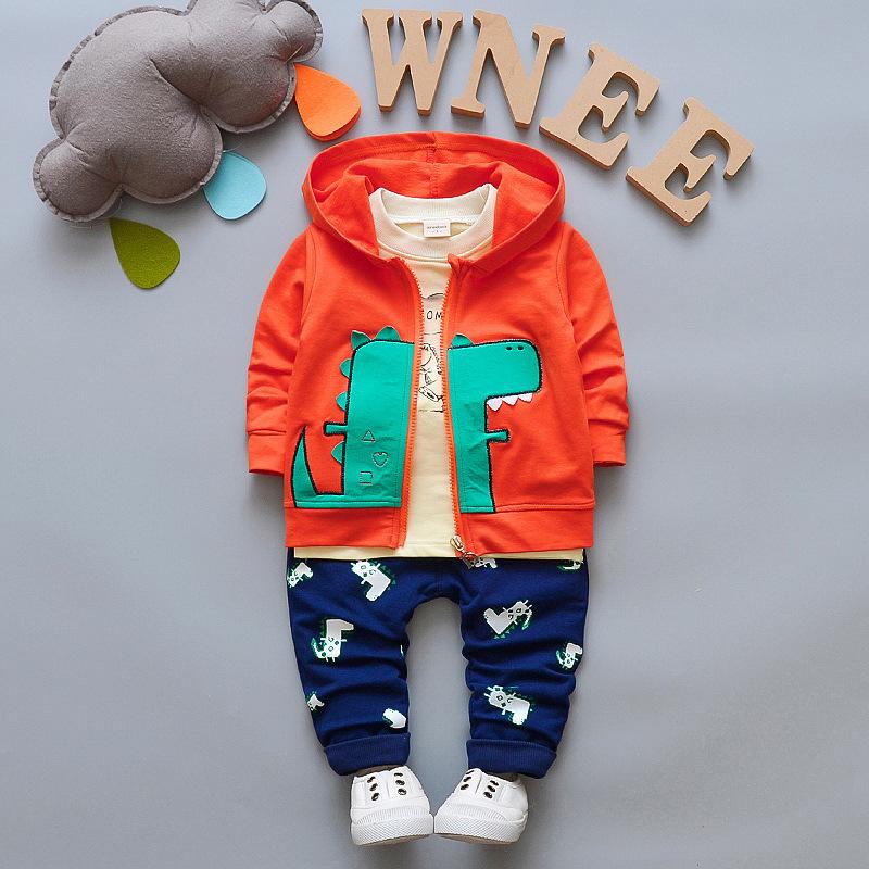 f004509f9 Buy Children Clothing Sets baby Boys Girls Fashion 3 Pcs suits Boy ...