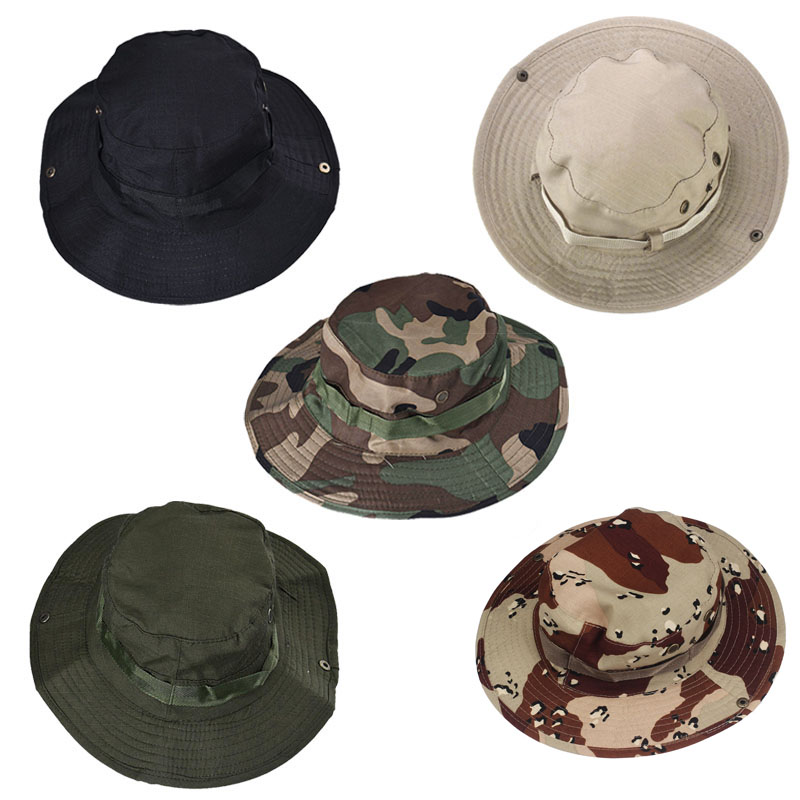 df1da45a0e9 1X Bucket Hat Boonie Hunting Fishing Outdoor Cap Brim Military(NO Retail  Box. Packed Safely in Bubble Bag)