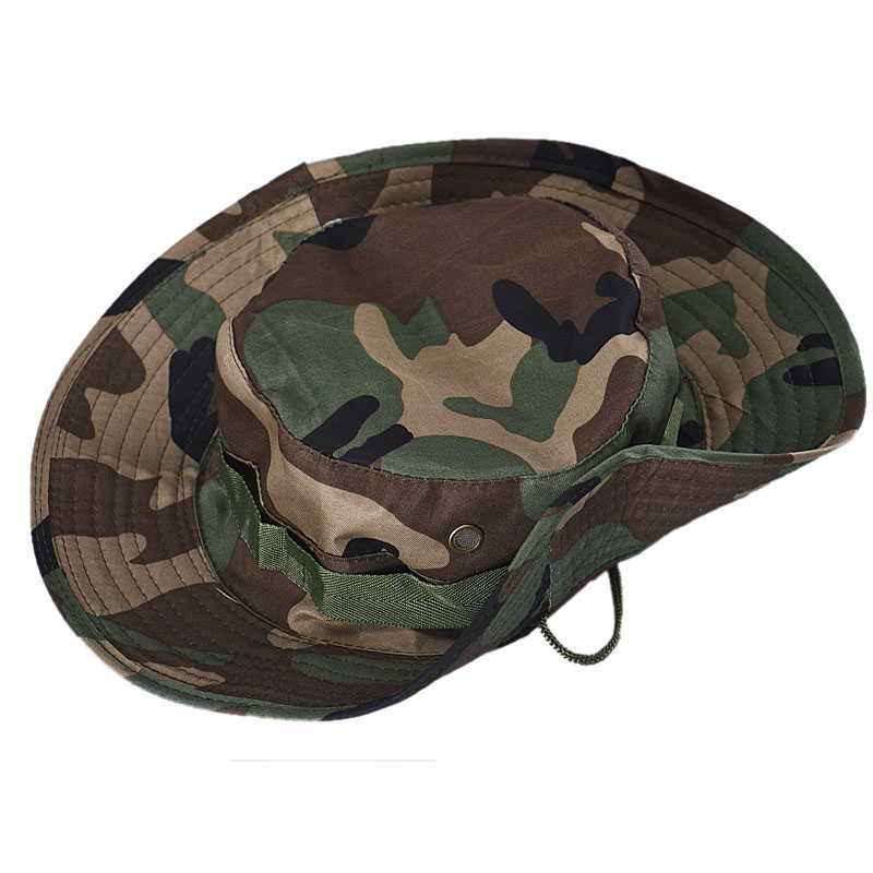 e9aee9c3c372d 1X Bucket Hat Boonie Hunting Fishing Outdoor Cap Brim Military(NO Retail  Box. Packed Safely in Bubble Bag)