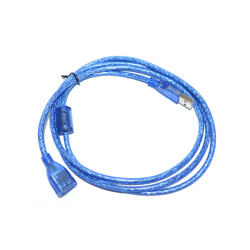 Cable Length: 3m Computer Cables USB2.0 Extension Cable Male-Female Extender Data Transfer Cable with 64 Shielding net and Aluminum foil Shield for Laptop