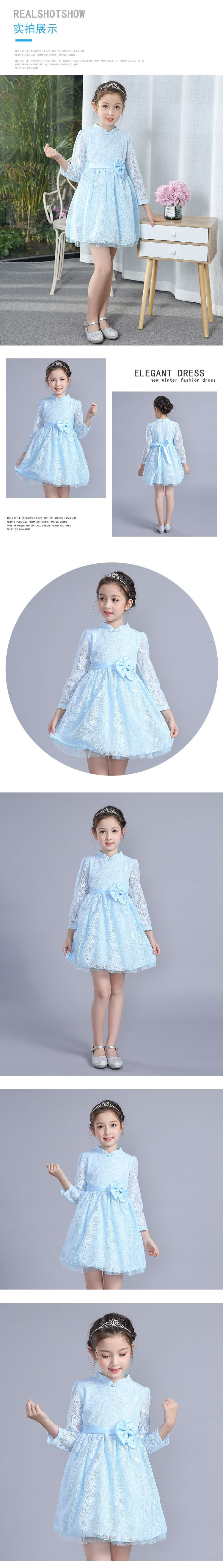 bc967515f3552 Buy Girls Dresses Chinese Traditional Nation New Year Children's ...