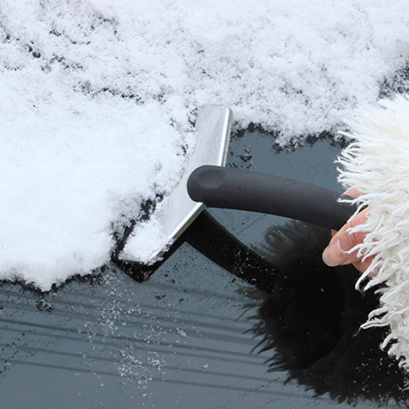 Garden Tools Garden Hand Tools Snow Ice Scraper Removal Clean Tool Auto Car Vehicle Glass Snow Shovel Water Scraping Car Windshield Anti Slip Ice Remove Tools