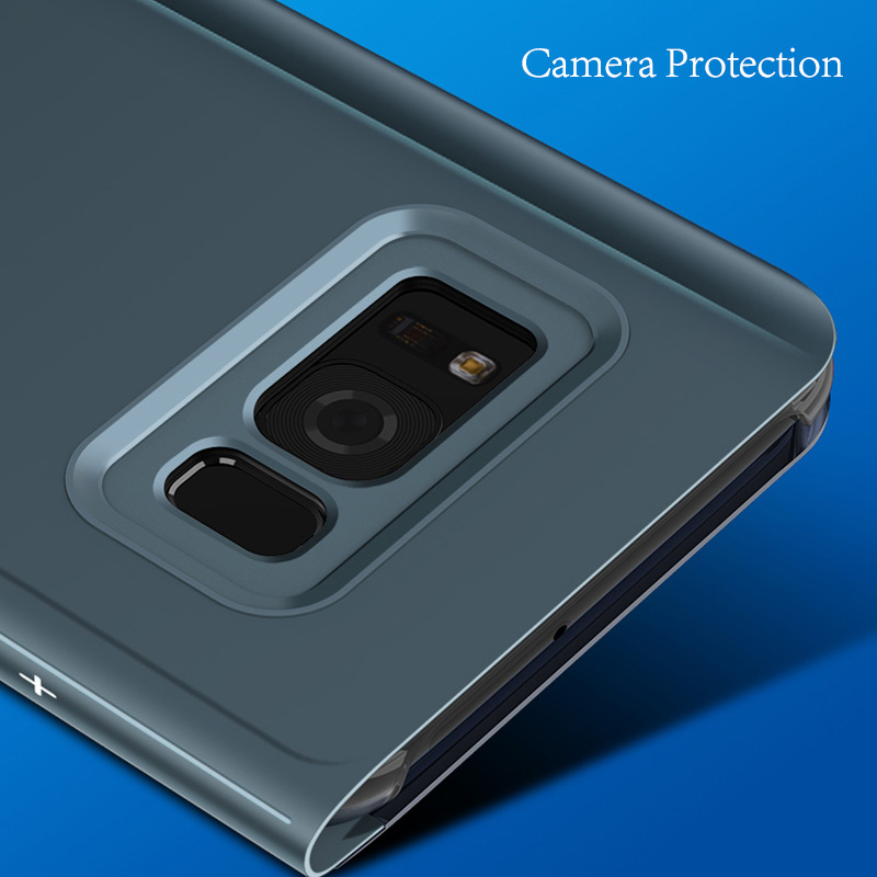 Buy Luxury Smart View Stand Flip Case For Samsung Galaxy S9
