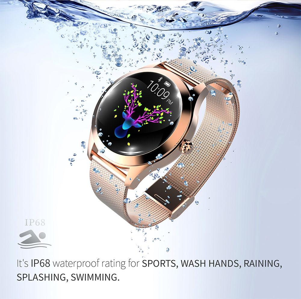Buy Bluetooth KW10 Smart Watch women Fashion Wristwatch SMS push