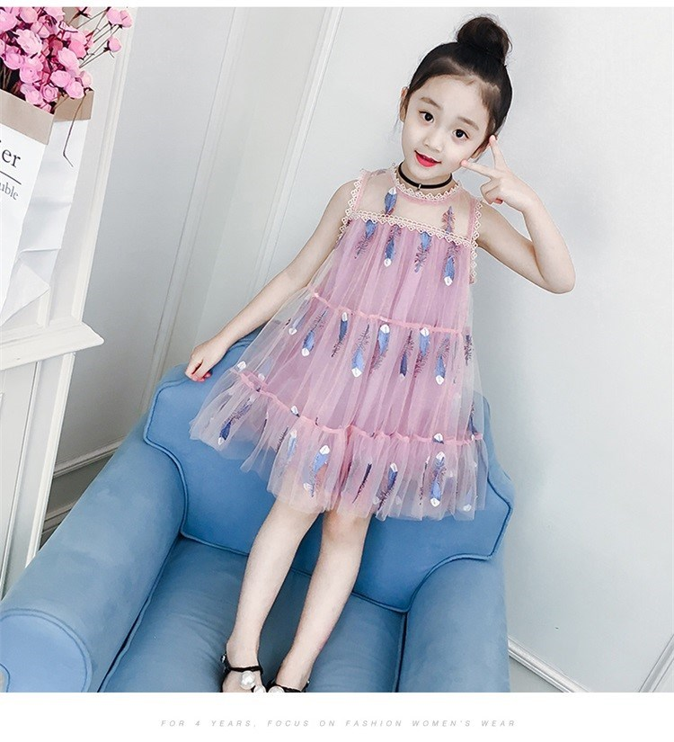 4742b4c8e Buy 2019 children s girls big children s clothing new summer princess  Chinese style fashion print dress 10 9 8 7 6 5 4 3 2 year old