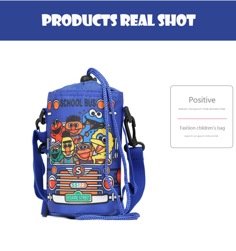 Buy New children's bag cartoon cute Sesame Street small bag