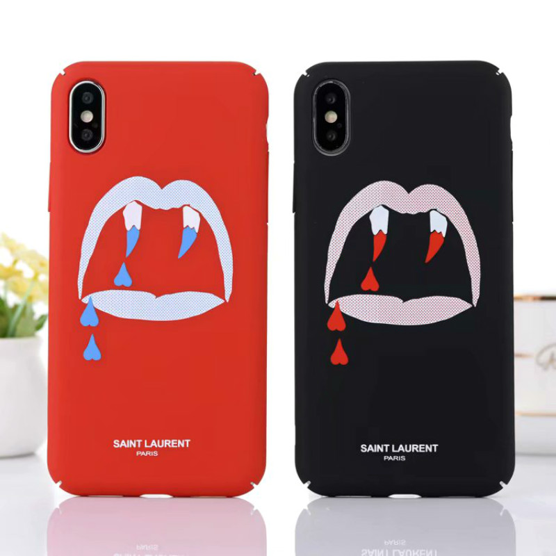 timeless design c4bed 88251 Buy Fashion Simple Saint Laurent phone case for iPhone X XR XS XS ...