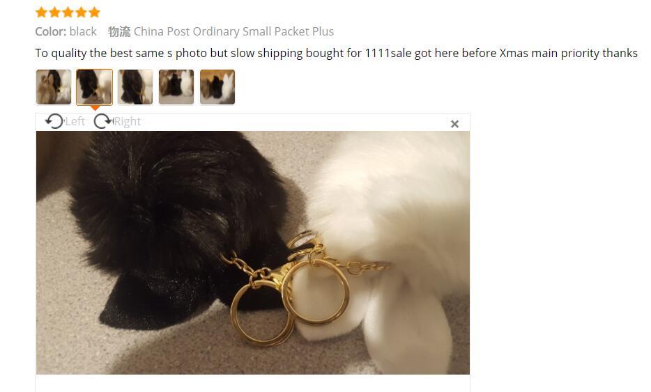 2018 Fur Pom Pom Keychains Fake Rabbit fur ball key chain porte clef pompom