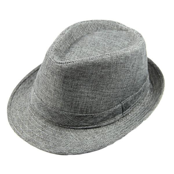 31dd3932e Buy Fashion Men Women Casual Fedora Hat Pinched Crown Beach Sun Cap ...