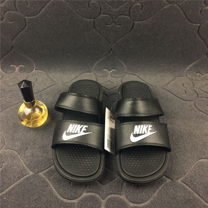 e8c672e1b37b Buy Nike Nike Benassi Duo Ultra black and white straps Ninja men and ...