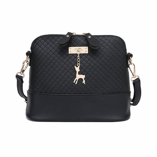 2017 Women Messenger Bags Fashion Mini Bag With Deer Toy Shell Shape Bag  Women Shoulder Bags free shipping ba7910ab0eb7d