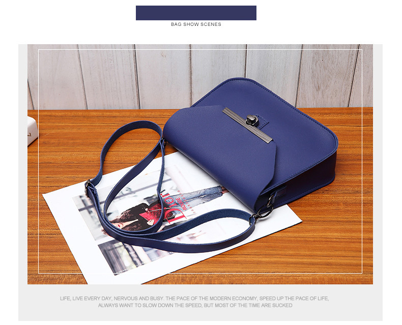7dcf9c85cd1c Buy Small Women Messenger Bags Flap Handbag Soft PU Women Bag Lady ...